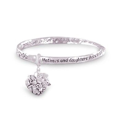 Mother Daughter Rings Jewlery Bracelet A Sterling Silver