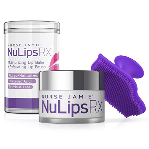 Amazon Com Nulips Rx Moisturizing Lip Balm Exfoliating Lip