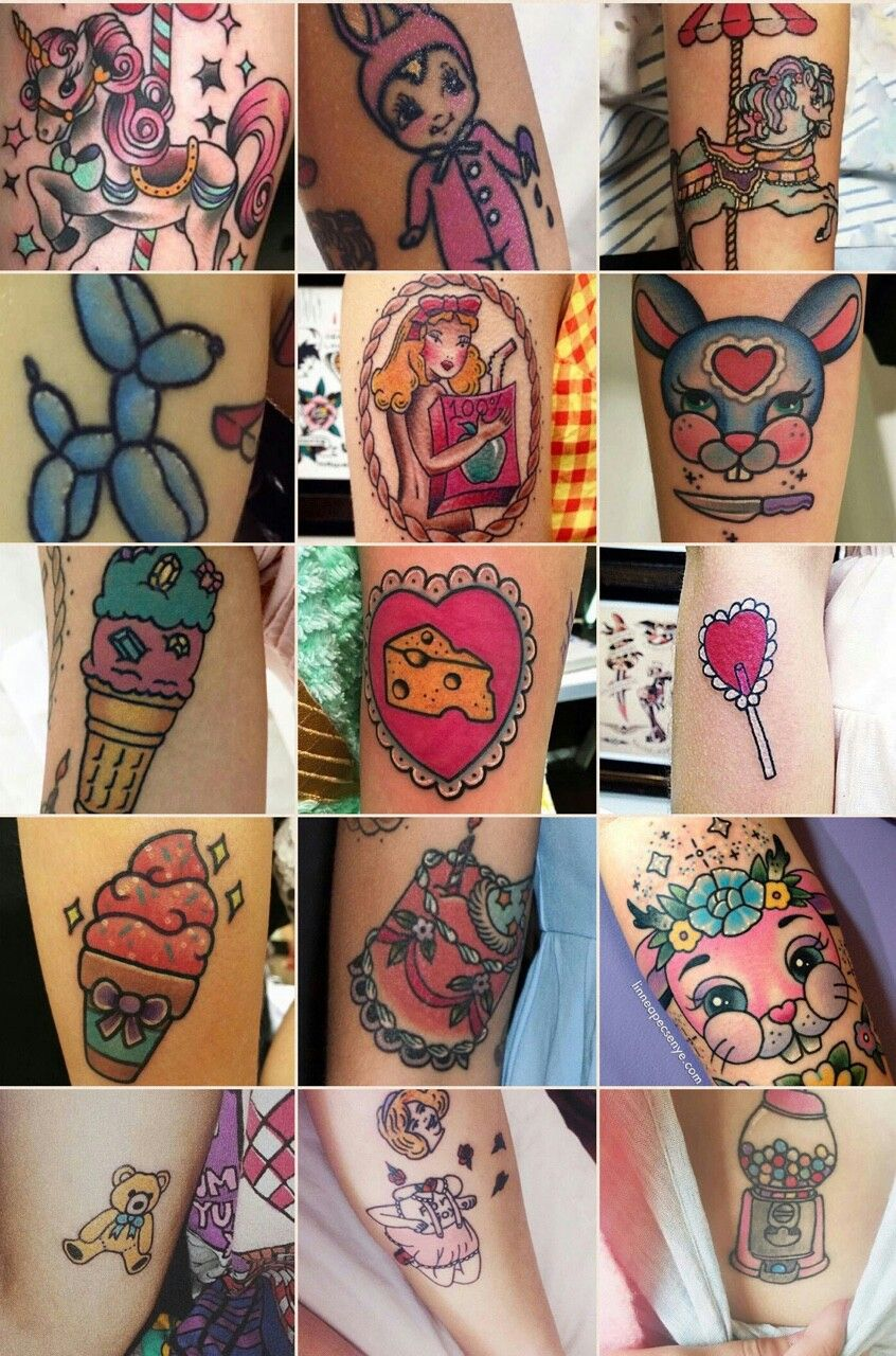 Tattoos De Melanie Martinez