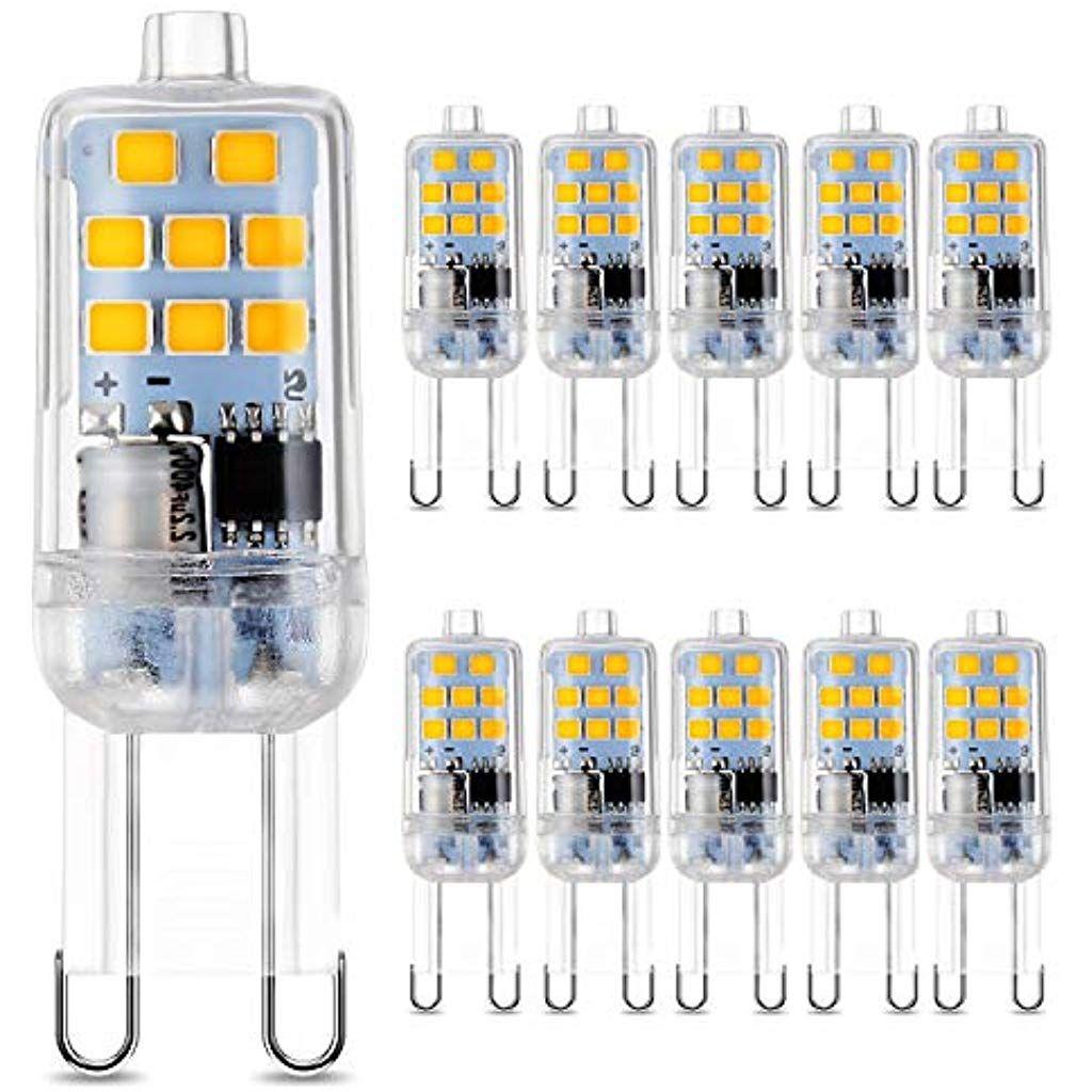 G9 Led Lampe 350 Lumen 3 5w Kein Flackern Und 2700k Warmweiss G9 Led Leuchtmittel Ersatz 35w G9 Halogenlampe 360 Abstrahlwinkel N In 2020 Led Leuchtmittel Led Lampe Led