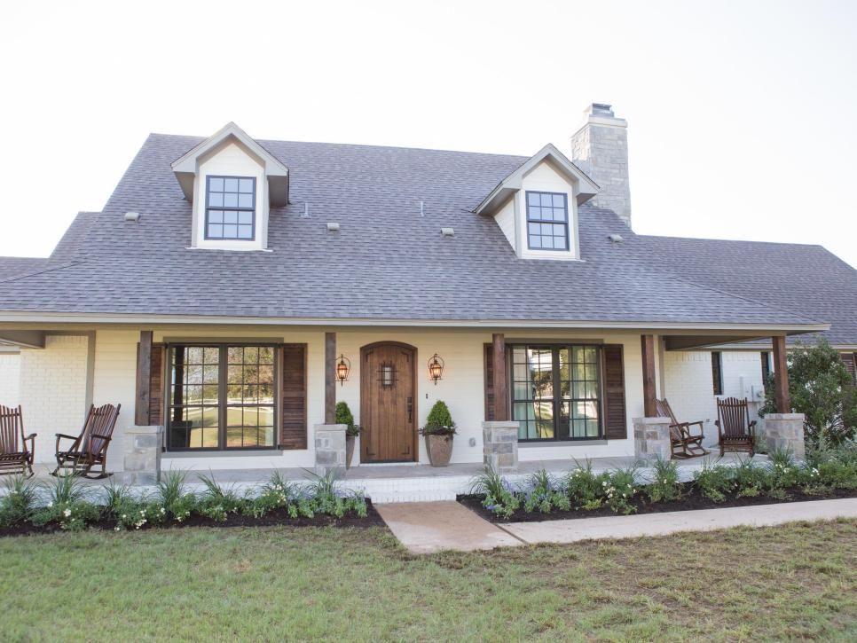 Fixer upper a rustic italian dream home home renovation - Rustic home exterior color schemes ...