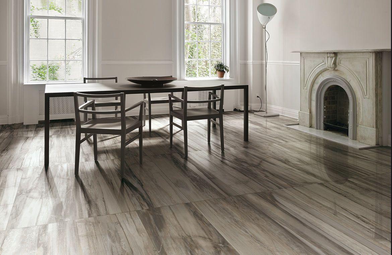 grey wood floor tile Ceramic floor tile stone look PETRIFIED TREE ...