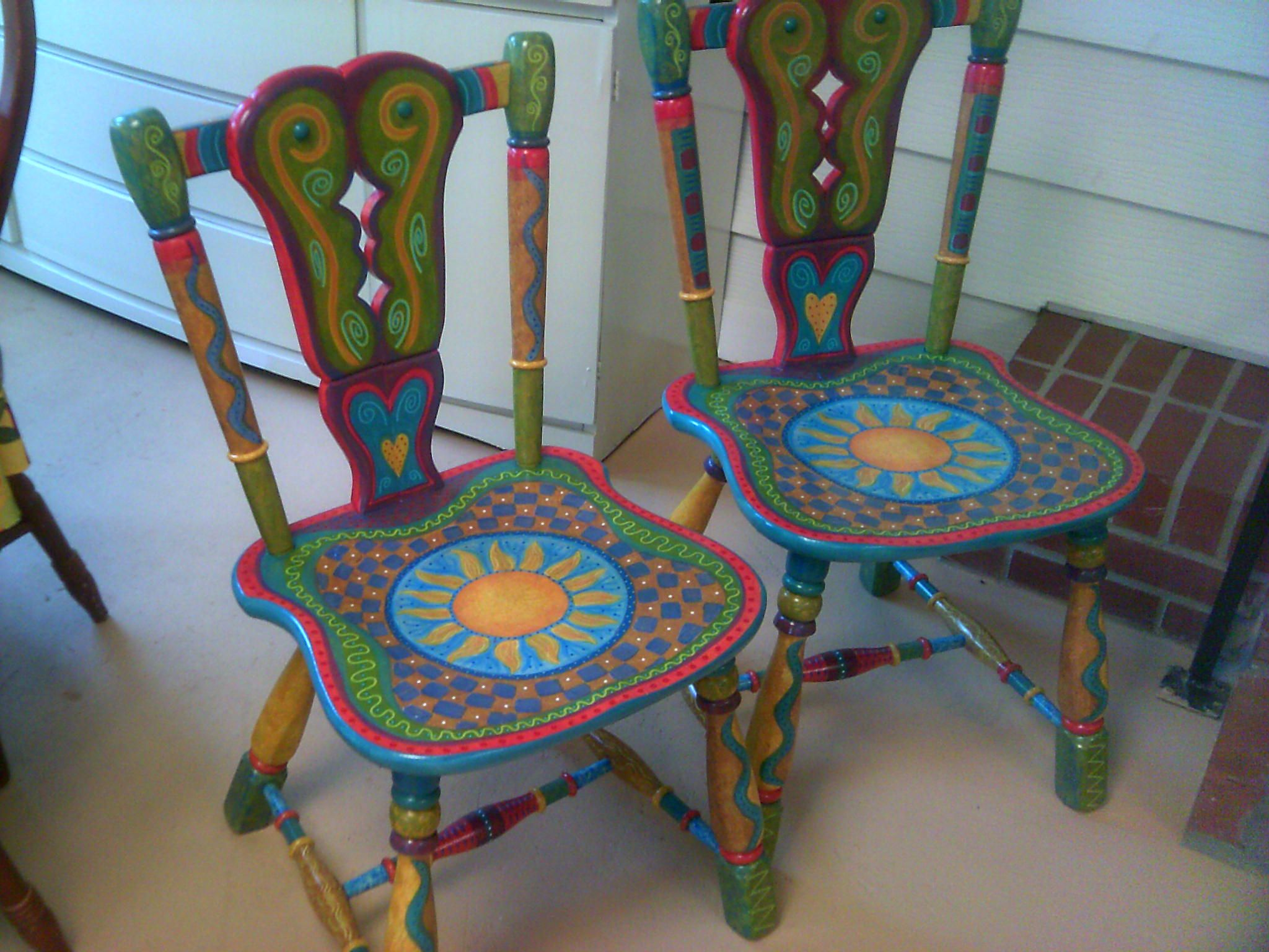 Ideas for hand painted chairs - Whimsical Painted Furniture Google Search Painted Kids Chairswhimsical Painted Furniturehand