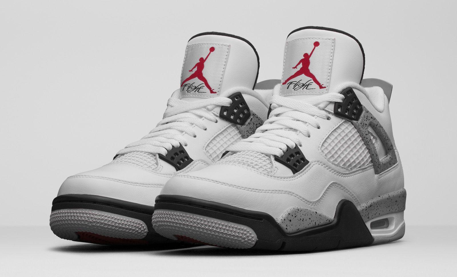 Nike Air Jordan 4 OG 89 White Cement