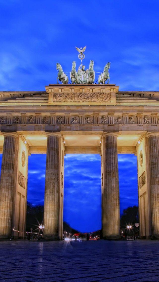 Brandenburg Gate Berlin 世界 Iphone7 壁紙 壁紙