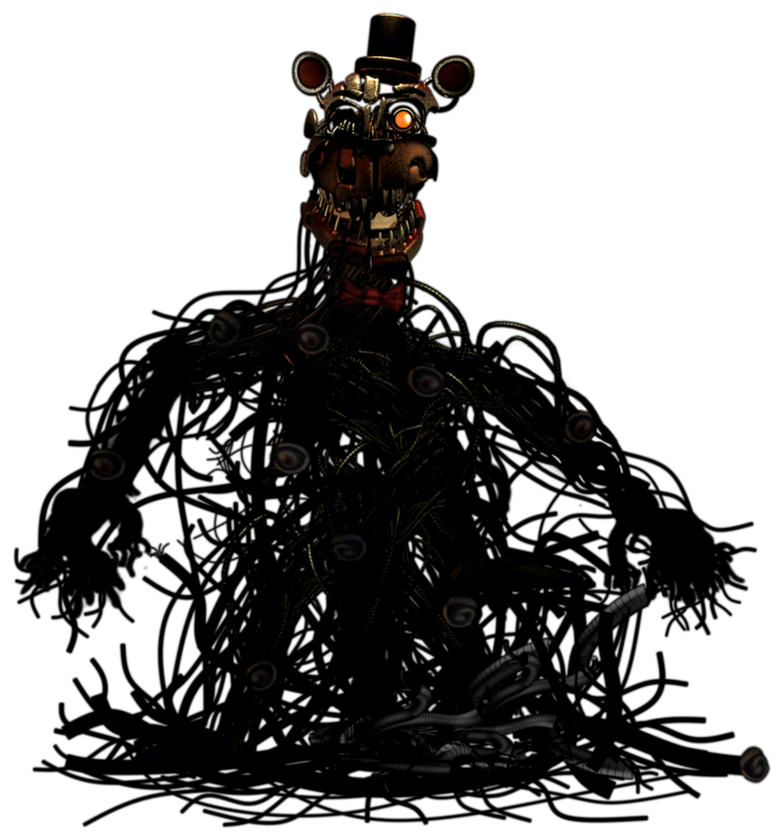 Well, here is a small edit of full body of F Fredy from FNAF6