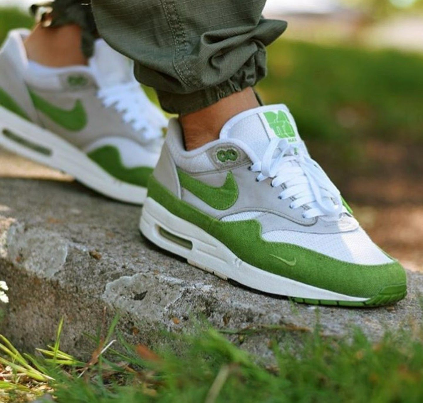 newest collection f423c cecc2 Nike Air Max 1 Patta  Chlorophyll  2009 ❤