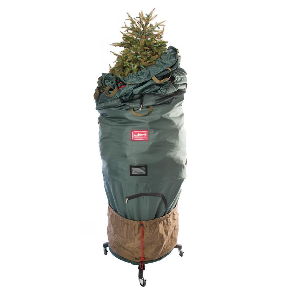 TreeKeeper Pro Large Adjustable Bag with 2 Way Rolling ...