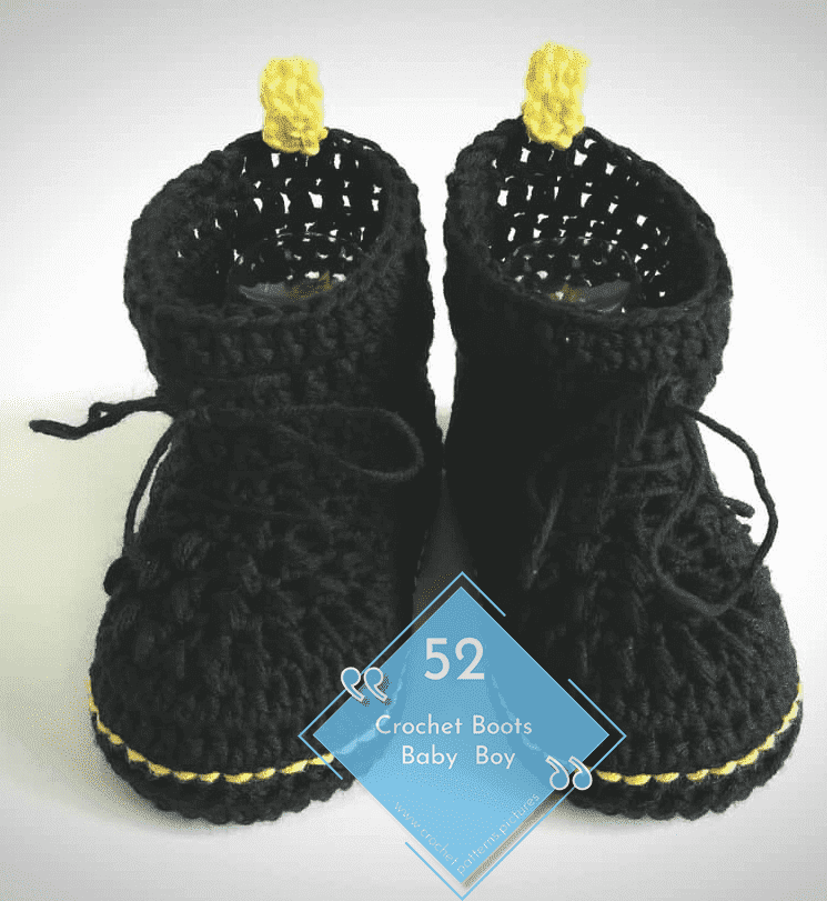 Photo of 52 Crochet Boots With Modern Patterns For Baby Boys. Advice Model: 4
