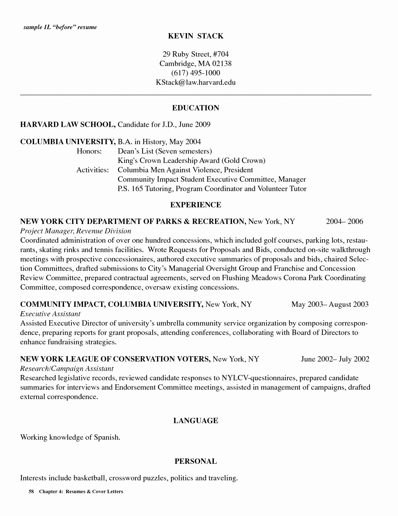 Legal Assistant Resume Example & Writing Tips Student resume