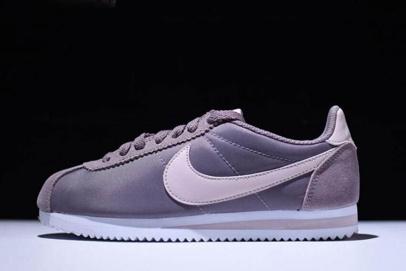 new product a691b b58ad WMNS Nike Classic Cortez Nylon Taupe Grey Silt Red-White 749864-200