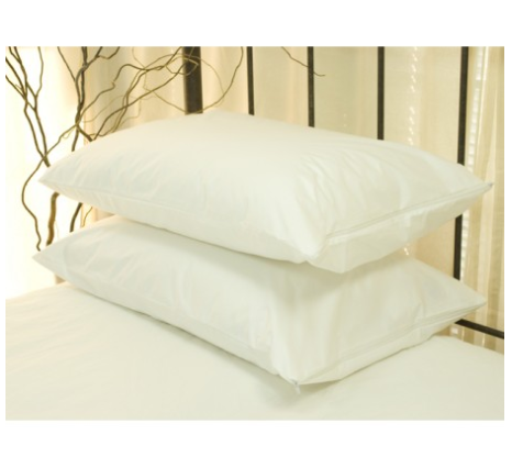 Stellmark Allergy Mite Proof Cotton Pillow Protectors Made From 100 Cotton Imported From Germany This Cotton Pillow Linen Bedding Natural Pillow Protectors