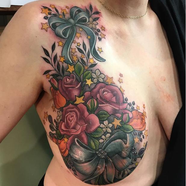 Breast Cancer Survivor Has Hummingbird Tattoo To Cover: Tatouage, Beau Tatouage