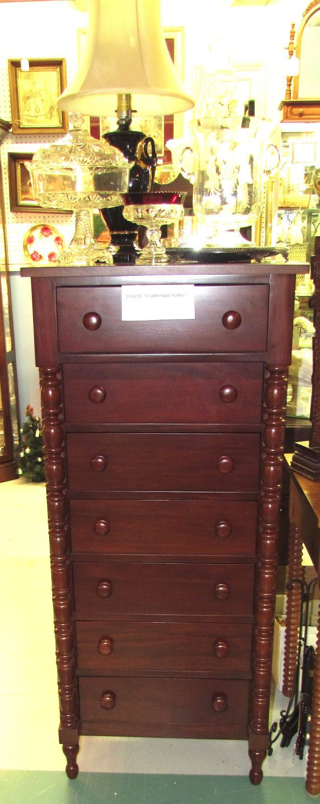 Davis Cabinet Cumberland Valley Lingerie Chest Cabinet Companies Cherry Furniture And