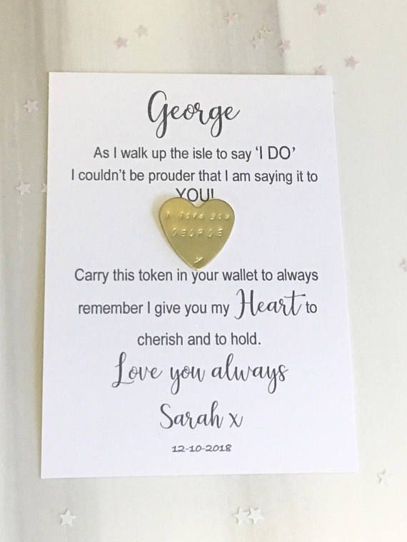 Wedding Day Groom Gift On Our Wedding Day Gift Husband To Be Personalized Groom Gifts Groom Gift Wedding Day Gifts