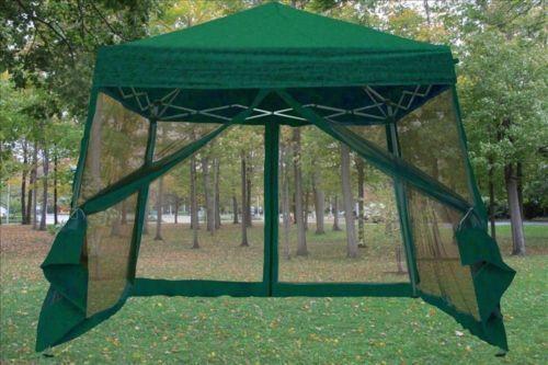 10u0027 x 10u0027 EZ Pop Up Tent Mesh Screen Gazebo w Canopy Great for & 10u0027 x 10u0027 EZ Pop Up Tent Mesh Screen Gazebo w Canopy Great for ...