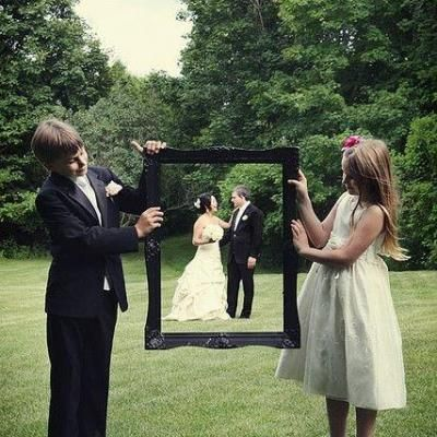 Funny ideas for taking really unique and memorable photos!