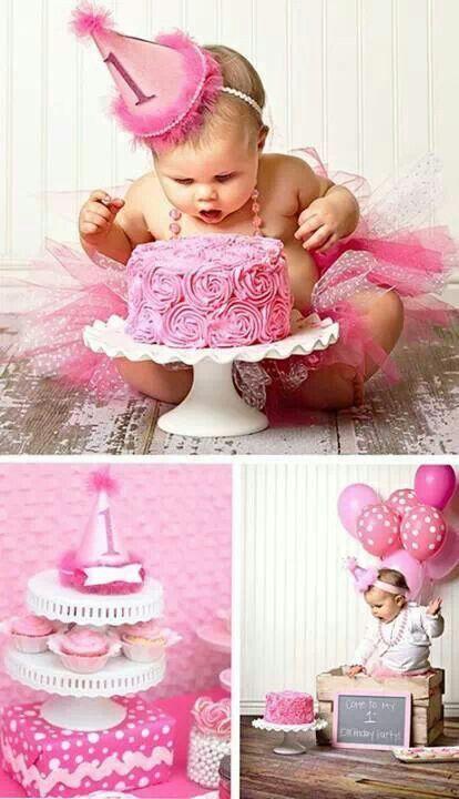 Har din søde lille baby pige fødselsdag, så gør dagen til noget helt specielt. Noget hun aldrig vil glemme!