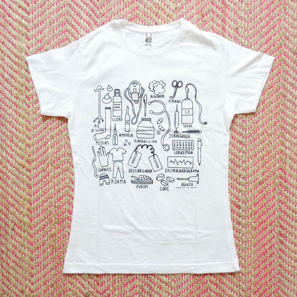 "Camiseta ""Ser enfermera"""