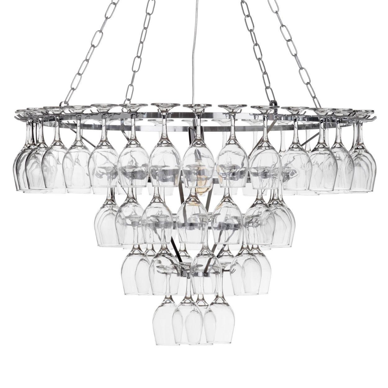 Litecraft 4 tier 1 light 60 wine glass chandelier chrome litecraft 4 tier 1 light 60 wine glass chandelier chrome debenhams arubaitofo Choice Image