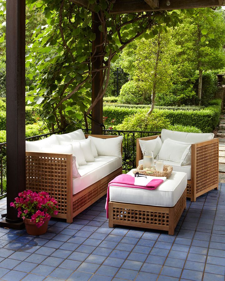 Horchow Maya Outdoor Furniture Outdoor Dining Furniture Teak Outdoor Furniture Outdoor Patio Furniture