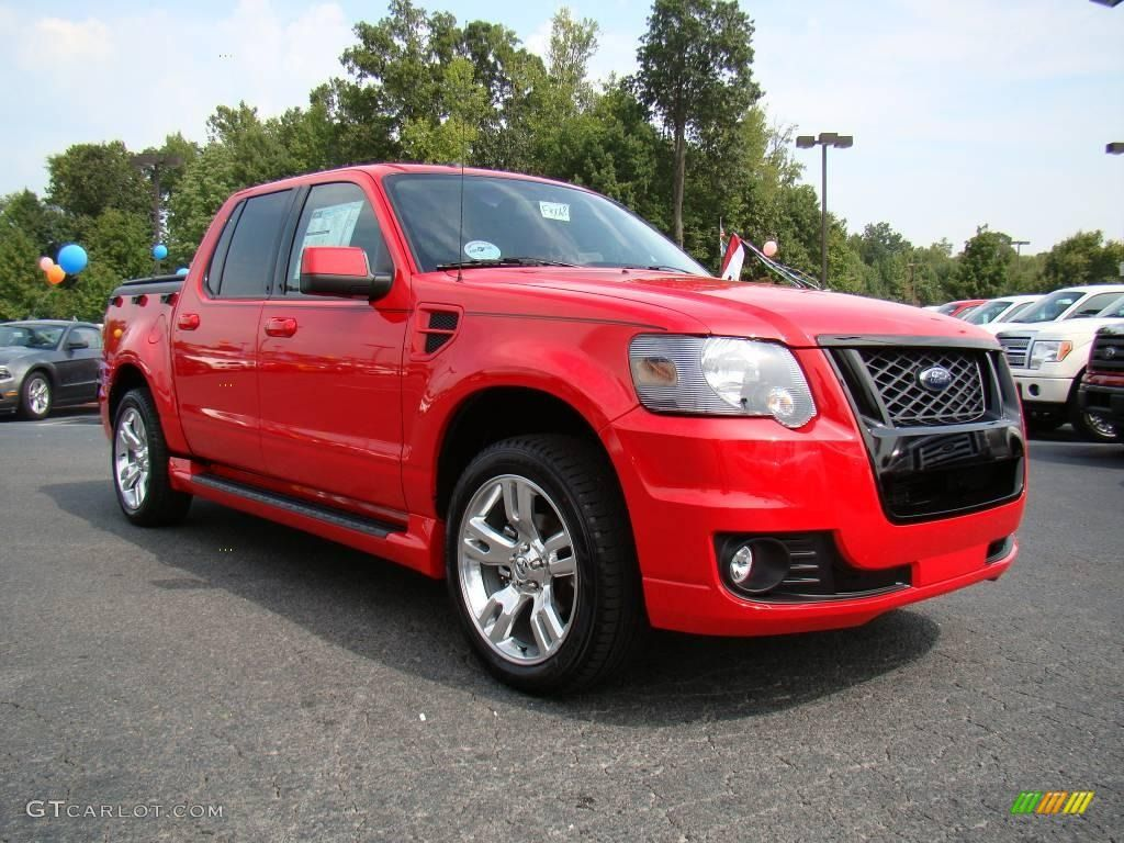 2010 Explorer Sport Trac Adrenalin Torch Red / Adrenalin