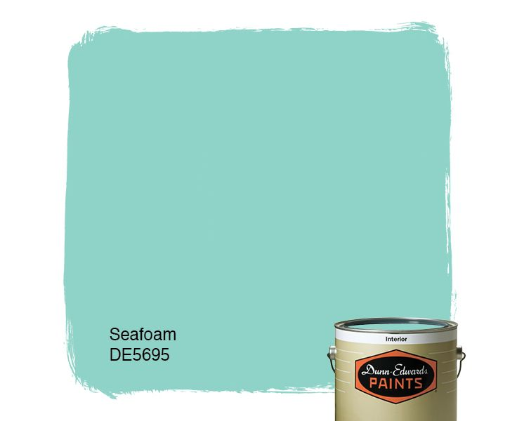 Dunn edwards paints paint color seafoam de5695 click for Seafoam blue paint color