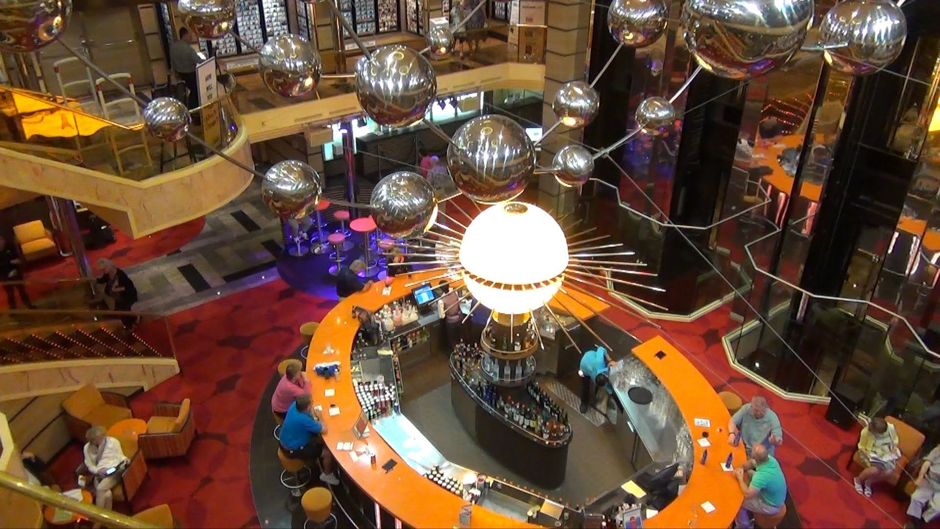 Video Overview Part 1 Carnival Sunshine Including Lobby Lounges