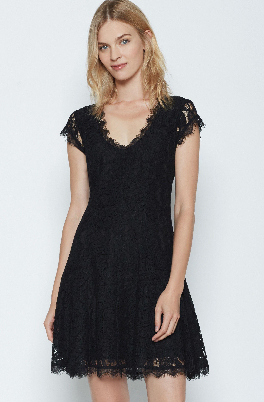 Black lace dress red shoes  Eshe C Lace Dress  My Style  Pinterest  Handbag accessories