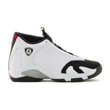 fb98c2648e3 Tênis Nike Air Jordan 14 Retro Masculino Branco Preto