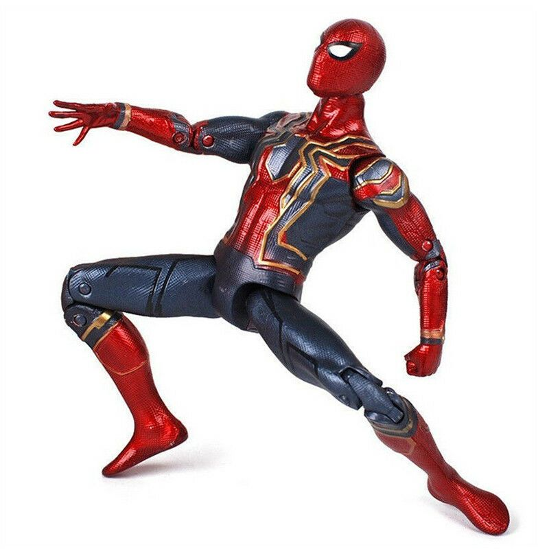 """Avengers 3 Infinity War Iron Spiderman 6/"""" Spider-Man Action Figure Toys Gifts UK"""