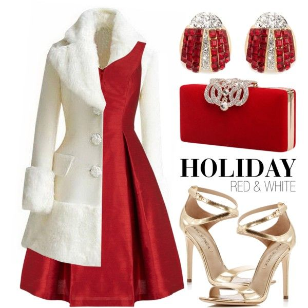 Holiday Colors: White and Red
