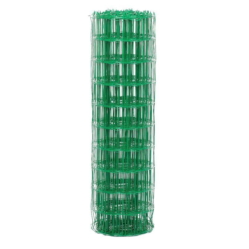 Rouleau De Grillage Soude Vert 6005 Grillage Soude Poteaux De Cloture Acier Galvanise
