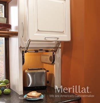 Merillat Classic® Wall Appliance Garage - Merillat
