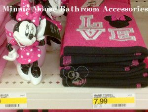 Target Minnie Mouse Bathroom Accessories 7 99 And Up