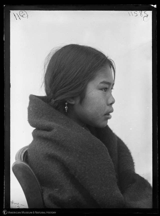 Kwakwaka'wakw (Kwakiutl) girl, Vancouver
