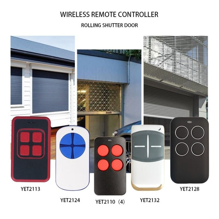 Universal Transmitter For Auto Gate And Door Window And Other Security Products Garage Remote Remote Control Remote
