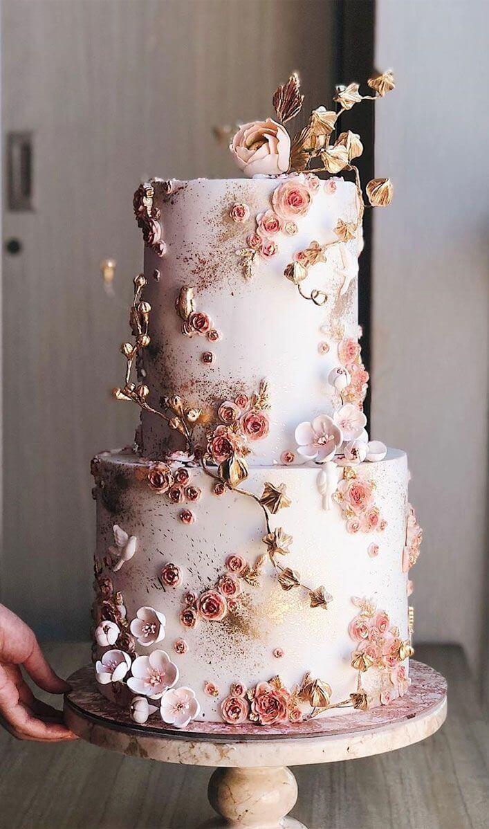Simple Homecoming Wedding Cake Designs Addicfashion