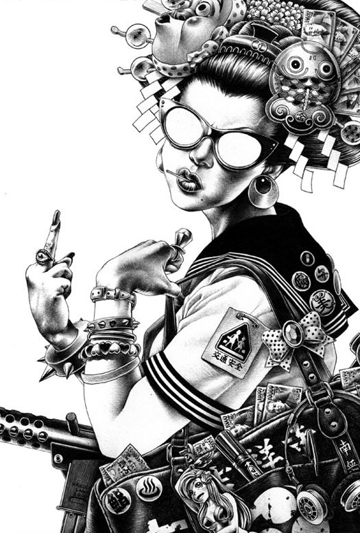 The Punk Infused Anime Art Of Shohei Otomo