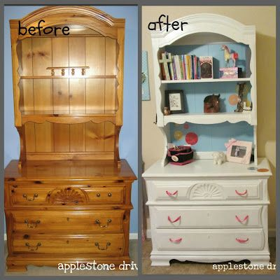 renovate old furniture. this is my old furniture pretty dresser hutch renovation httpwww renovate