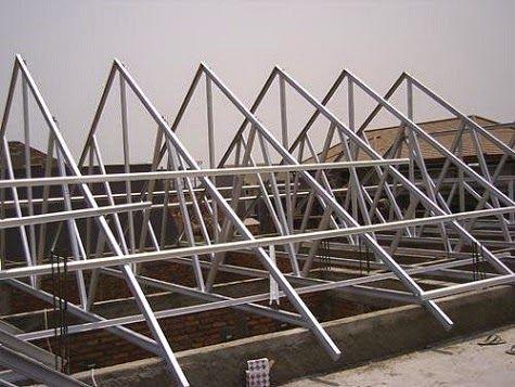 Contoh Rangka Atap Baja Ringan Minimalis Pin Oleh Marton Mak Di Kovacsoltvas Vasas Munkak Wrought Iron