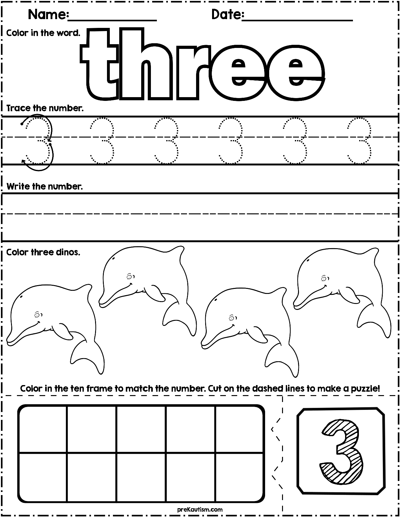 1 50 Learn How To Count And Write Numbers 1 10 With These Ocean Animal Themed Printable Activi Numbers Preschool Numbers Kindergarten Elementary Activities [ 1650 x 1275 Pixel ]