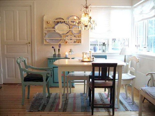 Eclectic Dining Room Ideas - Dreaming of June