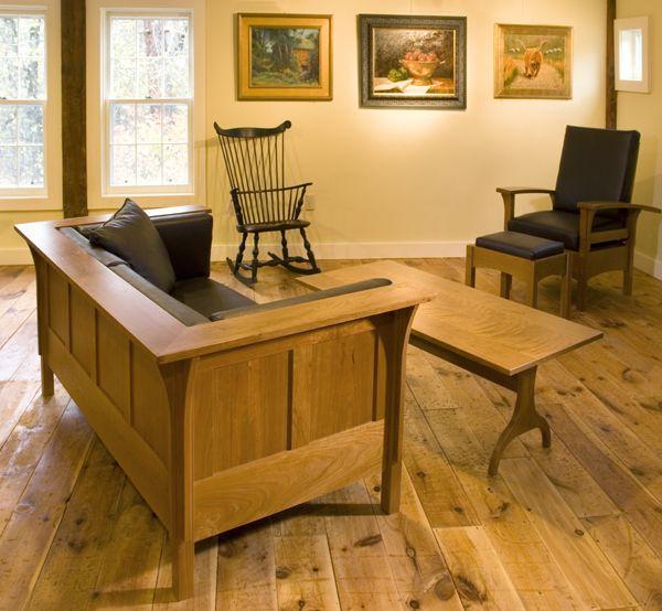 Shaker Style Furniture Mission Living Room Furniture Designs