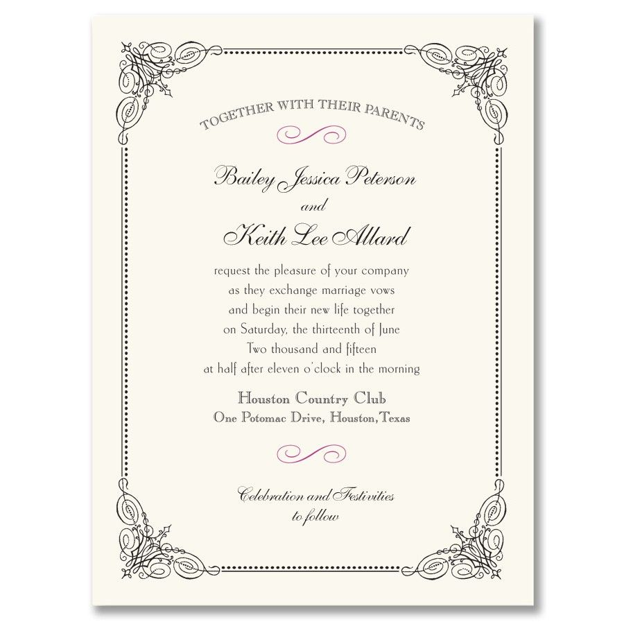 Good Choose Your Wedding Invitations