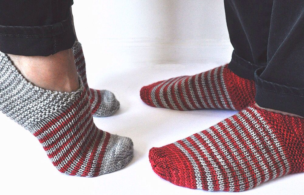 Valentines Day Slippers Pattern Simple House Slippers By