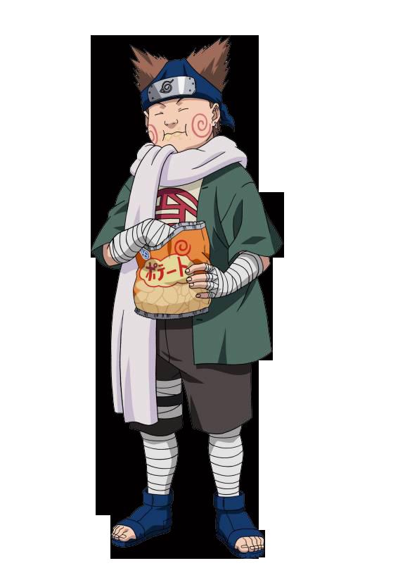 Adesivo De Parede Animes Choji Naruto