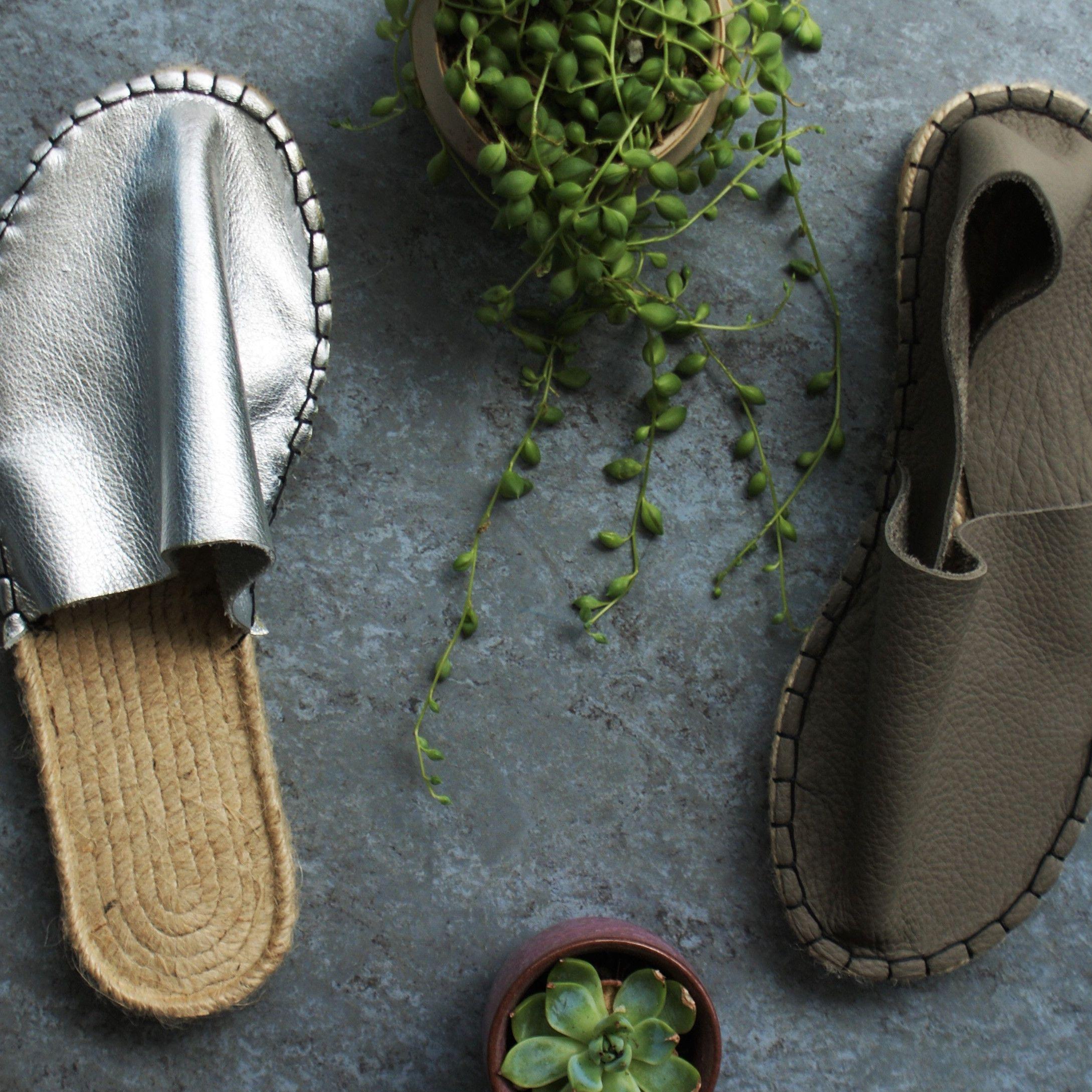 How Many Shades Of Grey Freshly Made Juta Leather Espadrilles