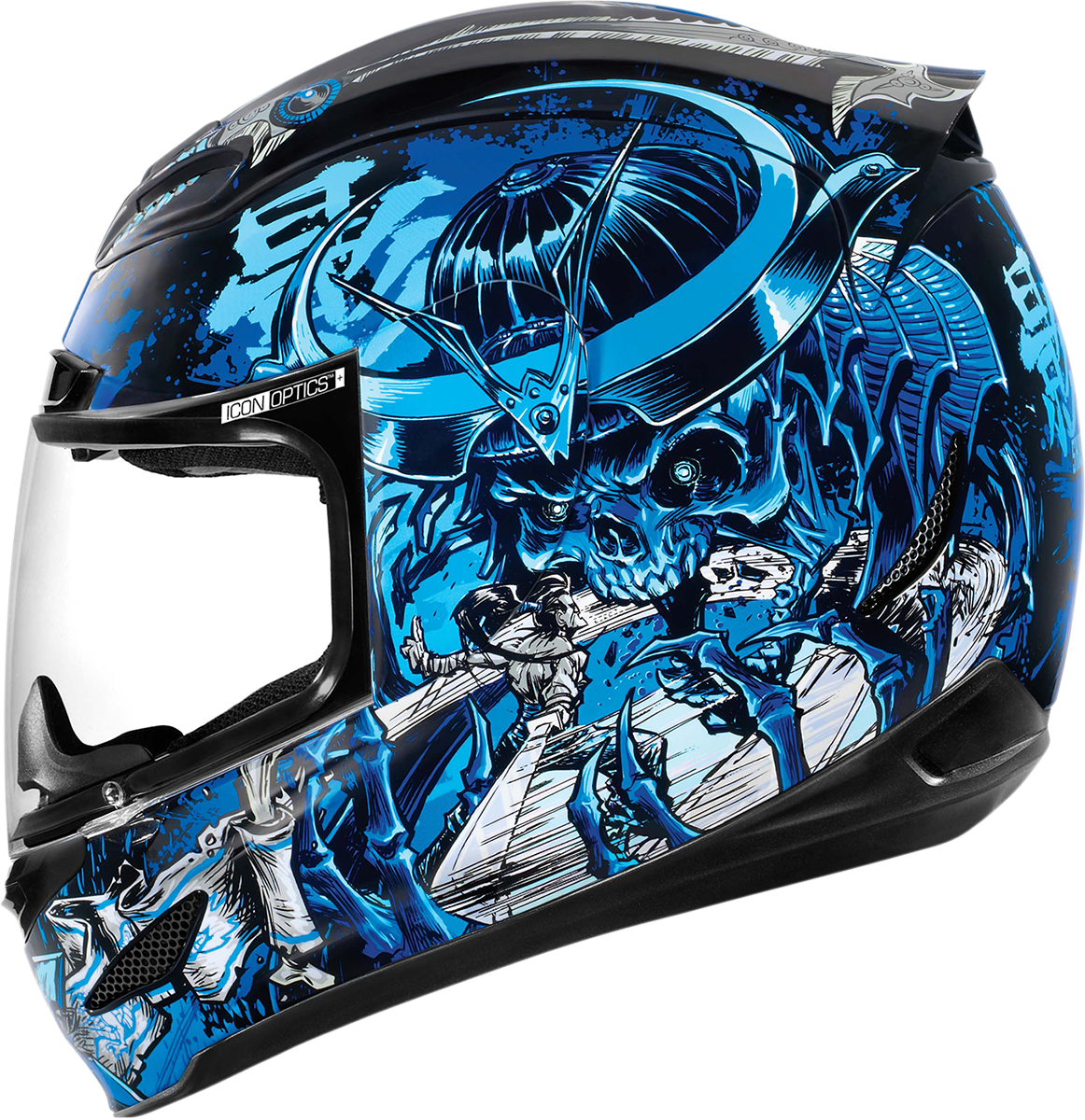 Airmada Shadow Warrior Blue Products Ride Icon (With