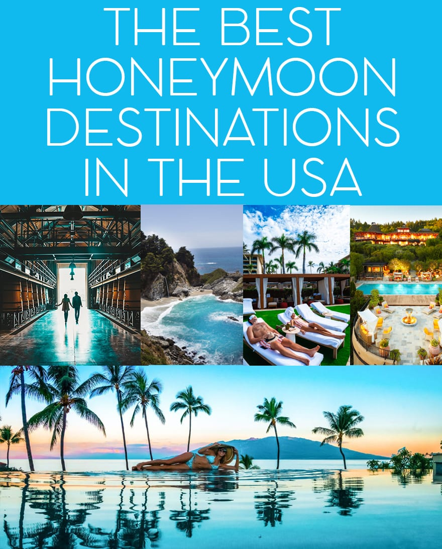 The Best Honeymoon Destinations in the United States -   19 holiday Destinations usa ideas